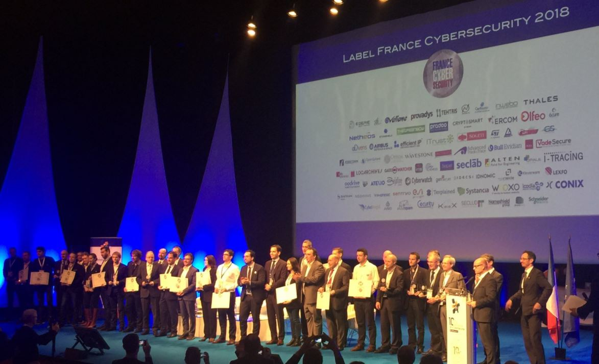 Remise des labels France Cybersecurity 2018